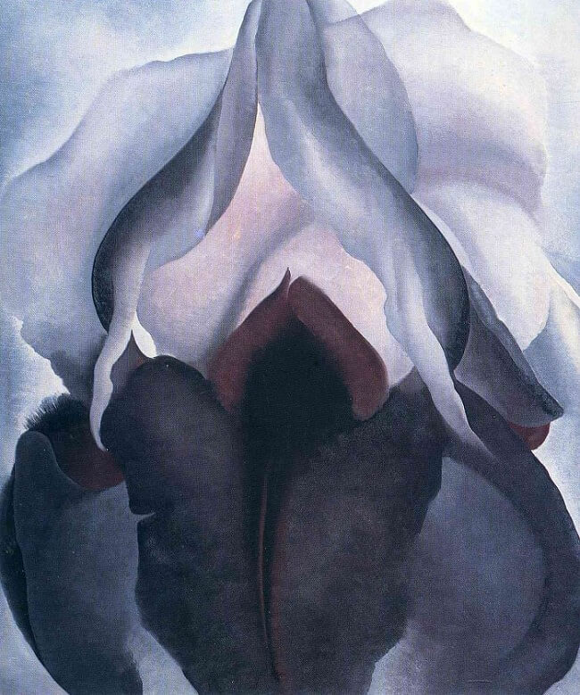 Black Iris Iii 1926 By Georgia O Keeffe