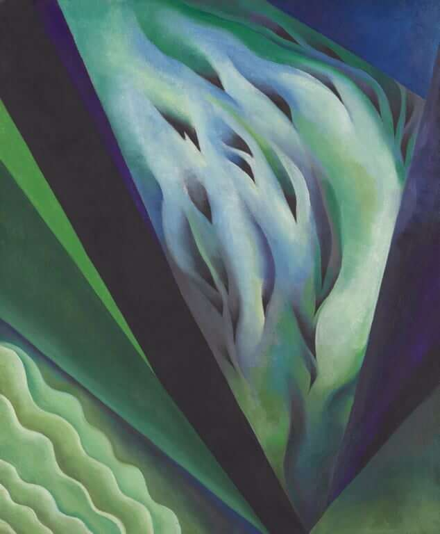 Blue and Green Music, 1919/1921 by Georgia O'Keeffe