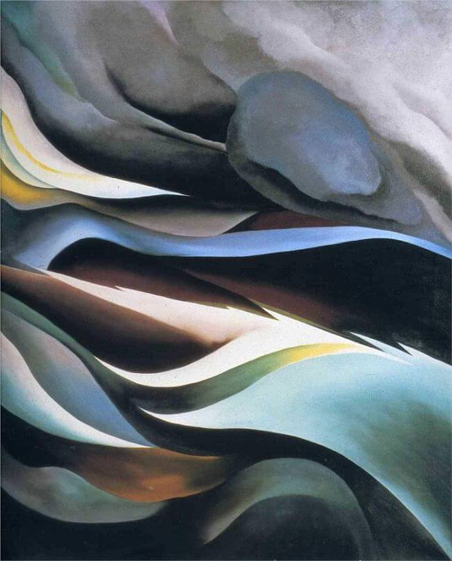 From The Lake 1. Georgia O'Keeffe. http://www.georgiaokeeffe.net/from-the-lake.jsp
