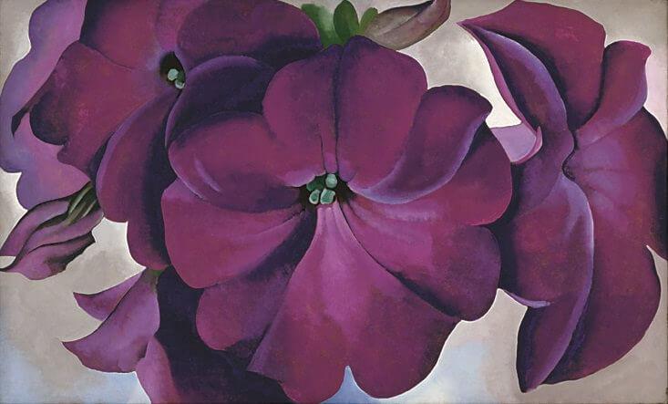 Petunias, 1924 by Georgia OKeeffe