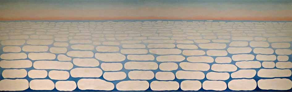 Sky Above Clouds IV, 1965 by Georgia O'Keeffe