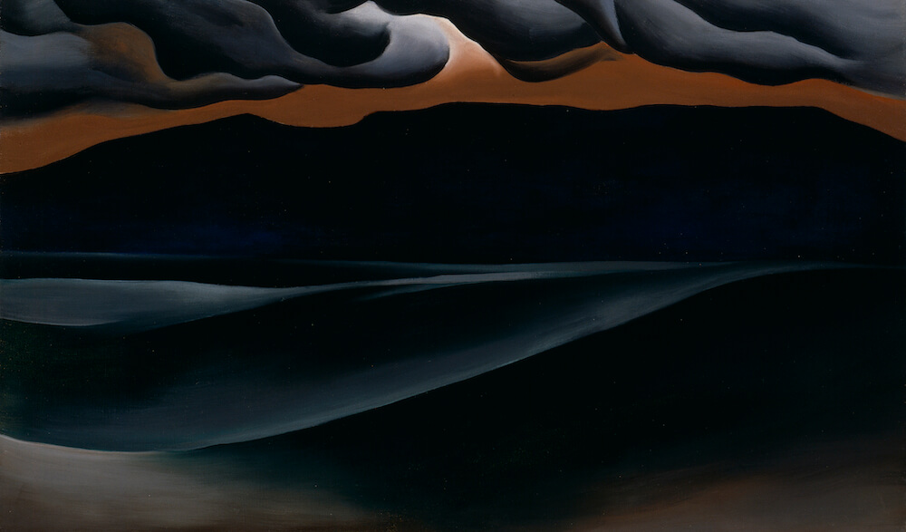 Storm Cloud Lake George, 1923 by Georgia O'Keeffe